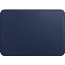 "Чехол-конверт Wiwu Skin Pro 2 Leather Sleeve for MacBook Pro 13"" (Royal Blue)"