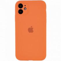 Чехол Apple iPhone 11 Pro Max Silicone Сase Full Protective (Copy AA) - Papaya