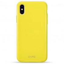 Чехол Pump Acid Case for iPhone XS /X Yellow