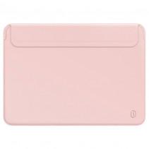 "Чехол-конверт Wiwu Skin Pro 2 Leather Sleeve for MacBook Pro 15"" (Pink)"