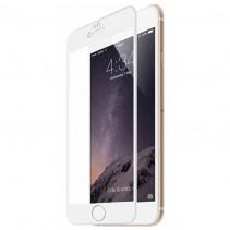 Стекло 3D Hauberk for Apple iPhone 8 Plus - White