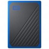 SSD накопитель WD My Passport Go 1 TB Blue (WDBMCG0010BBT-WESN)