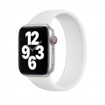 Ремешок Apple Watch Single Loop Strap Silicone 44mm (M) White