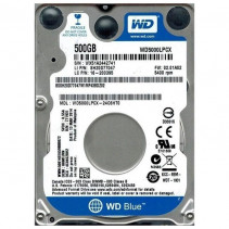 "HDD Western Digital Blue 500GB 5400rpm 16MB 2.5"" SATAIII (WD5000LPCX)"