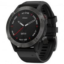 Смарт-часы Garmin Fenix 6 Pro Sapphire Сarbon Grey DLC with Black Band (010-02158-11)