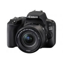 Зеркальный фотоаппарат Canon EOS 200D II kit (18-55mm) EF-S IS STM