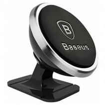 Автомобильный держатель Baseus 360-degree Rotation Magnetic Mount Holder(Paste type) Silver (SUGENT-NT0S)