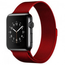 Ремешок Apple Watch Milanese Loop (42mm/44mm) Red