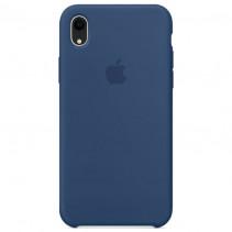 Чехол Apple iPhone XR Silicone Case Blue Horizon (Original copy)
