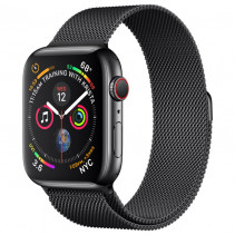 Ремешок Apple Watch Milanese Loop (42mm/44mm) Black