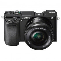 Компактный фотоаппарат со сменным объективом Sony Alpha A6000 kit (16-50mm) Black