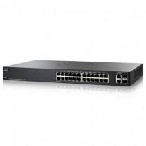 Коммутатор Cisco SB SG200-26FP 26-port Gigabit Smart Switch PoE 180W