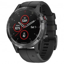 Смарт-часы Garmin Fenix 5 Plus Sapphire Black with Black Band (010-01988-00)