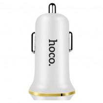 Автомобильное ЗУ Hoco Z1 2.1A Lightning 2USB