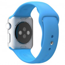 Ремешок Apple Watch 38mm Sport Band (S/M & M/L) Light Blue