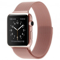 Ремешок Apple Watch Milanese Loop (42mm/44mm) Rose Gold