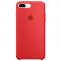 Чехол Apple iPhone 8 Plus Silicone Case Red (MQH12)