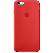 Чехол Apple iPhone 6s Plus Silicone Case Red (MKXM2)