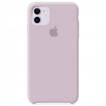Чехол Apple iPhone 11 Silicone Сase - Lavander (Original copy)