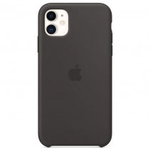 Чехол Apple iPhone 11 Silicone Case - Black (MWVU2)