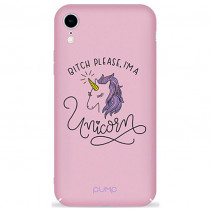 Чехол Pump Tender Touch Case for iPhone XR Unicorns Girls
