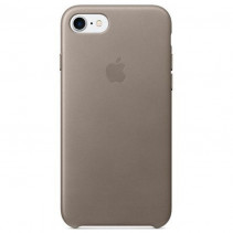 Чехол Apple iPhone 8 Leather Case Taupe (MQH62)