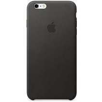 Чехол Apple iPhone 6s Plus Leather Case Black (MKXF2)