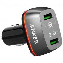 Автомобильное зарядное устройство Anker PowerDrive+ 2 with Quick Charge 3.0 V3 (Black)