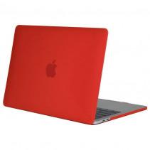 "Чехол-накладка Lukx for Apple MacBook Air 13"" (2018) Red Matte"