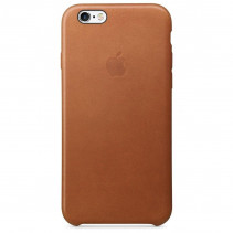 Чехол Apple iPhone 6s Leather Case Saddle Brown (MKXT2)