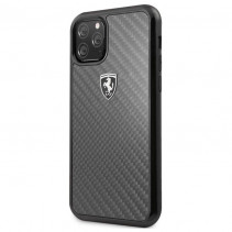 Чехол Ferrari Carbon Hard Case Heritage for iPhone 11 Pro - Black