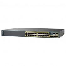 Коммутатор Cisco Catalyst 2960-X 24 GigE PoE 370W, 4 x 1G SFP, LAN Base