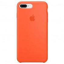 Чехол Apple iPhone 8 Plus Silicone Case Orange (Original copy)