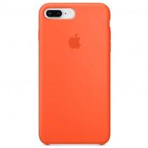 Чехол Apple iPhone 8 Plus Silicone Case Spicy Orange (Original copy)