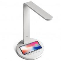 Беспроводное ЗУ + LED лампа Rock Desktop Lamp with Wireless Charging Pad