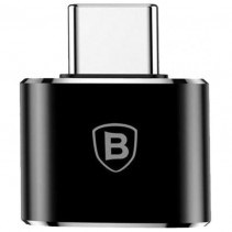 Адаптер Baseus USB Female To Type-C Male Adapter Converter Black (CATOTG-01)