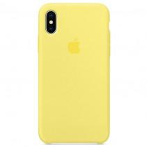Чехол Apple iPhone X Silicone Case Lemonade (Original copy)