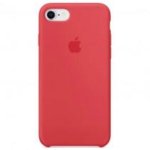 Чехол Apple iPhone 8 Silicone Red Raspberry (Original copy)