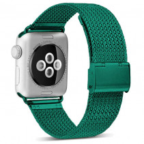 Ремешок Apple Watch Milanese Loop (38mm/40mm) Dark Green