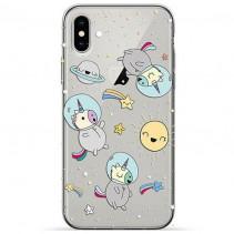Чехол Pump Transperency Case for iPhone XR Spase Unicorns