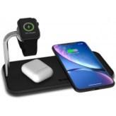 Беспроводная док-станция Zens Dual + Watch Aluminium Wireless Charger Black (ZEDC05B/00)