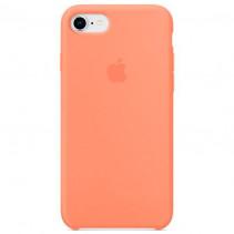 Чехол Apple iPhone 8 Silicone Case Peach (Original copy)