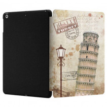 Чехол-книжка Wow case Covermate plus for iPad 2018 (New) / 2017 (Leaning Tower of Pisa)