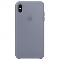 Чехол Apple iPhone Xs Max Silicone Lavender Gray (Original copy)