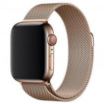 Ремешок Apple Watch 40mm Milanese Loop Gold (MLJJ2)