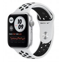 Apple Watch Nike Series 6 GPS 40mm Silver Aluminum Case w. Pure Platinum/Black Nike Sport Band (M00T3)