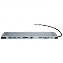 Адаптер Baseus Enjoyment Series Type-C Notebook HUB Adapter (CATSX-F0G)