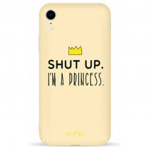 Чехол Pump Tender Touch Case for iPhone XR I`m a Princess