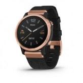 Смарт-часы Garmin Fenix 6S Sapphire Rose Goldtone with Heathered Black Nylon Band, North (010-02159-36)