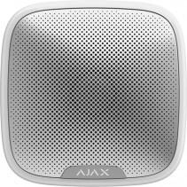 Беспроводная уличная сирена Ajax StreetSiren, Jeweller, 113 дБ, IP54, 3V CR123A, белая